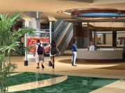 Dalma Mall render information desk (Dalma Mall Mussafa Abu Dhabi)