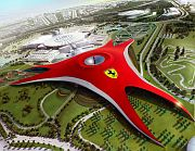 Ferrari World overview render
