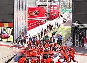 Ferrari World F1 Paddock simulation (Ferrari World Abu Dhabi)