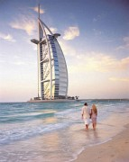Burj Al Arab and beach