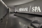 Armani Hotel Dubai Spa entrance (Armani Hotel and Residences Dubai)