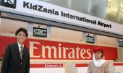 Kidzania Dubai Mall Emirates Airlines (EK) check in (Kidzania Dubai Mall)