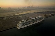 Brilliance of the Seas parked in Dubai