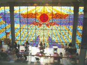 Stained glass cafe Wafi (Wafi City)